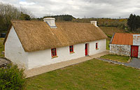 Thatched Cottage For Sale: Cloodrumman Beg Cottage, Foxfield, Keshkerrigan, Fenagh, Co. Leitrim