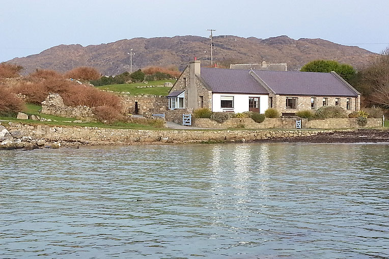 Renovated Seashore Cottage For Sale: Harbour Lodge, Ervallagh, Roundstone, Connemara, Co. Galway