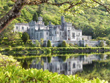 Visit Kylemore Abbey and Victorian Walled Garden, Kylemore, Connemara, Co. Galway