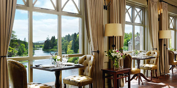 Bed & Breakfast at Ballynahinch Castle Hotel, Recess, Connemara, Co. Galway