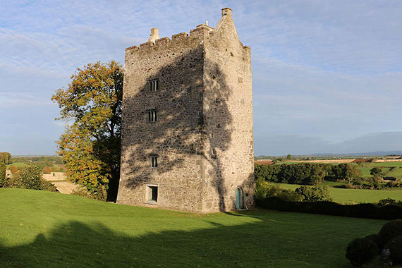 Castle and Georgian House For Sale: Carrigacunna Castle, Mallow, Co. Cork