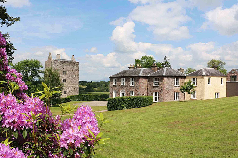 Castle and Georgian House For Sale: Carrigacunna Castle, Killavullen, Mallow, Co. Cork