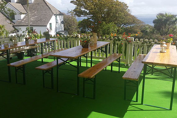 Weddings & Events at Westcove House, Castlecove, Co. Kerry