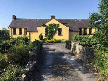Converted Schoolhouse For Sale: Cashel Schoolhouse, Cashel, Swinford, Co. Mayo