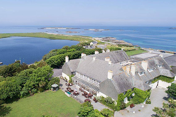 Bed & Breakfast at Renvyle House Hotel, Renvyle, Connemara, Co. Galway