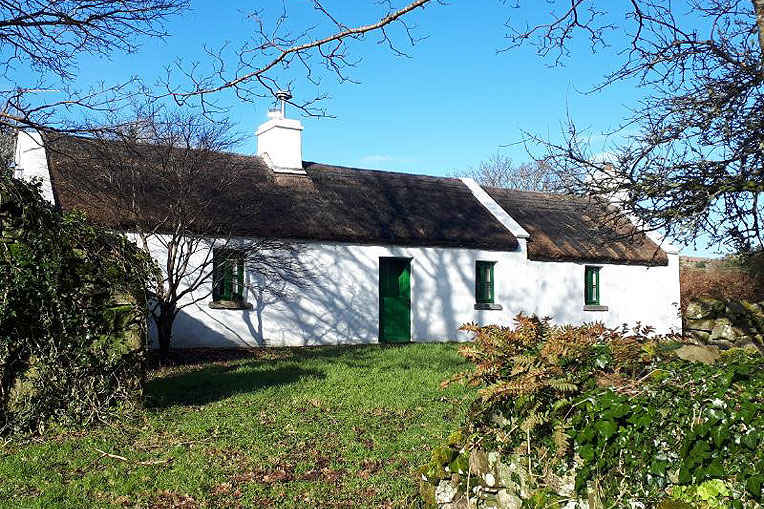 Traditional Irish Thatch Cottage For Sale: Moon Cottage, Ballyveane, Clonbur, Co. Galway