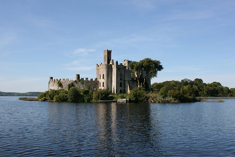 Ruined Castle For Sale: McDermotts Castle, Lough Key, Boyle, Co. Roscommon