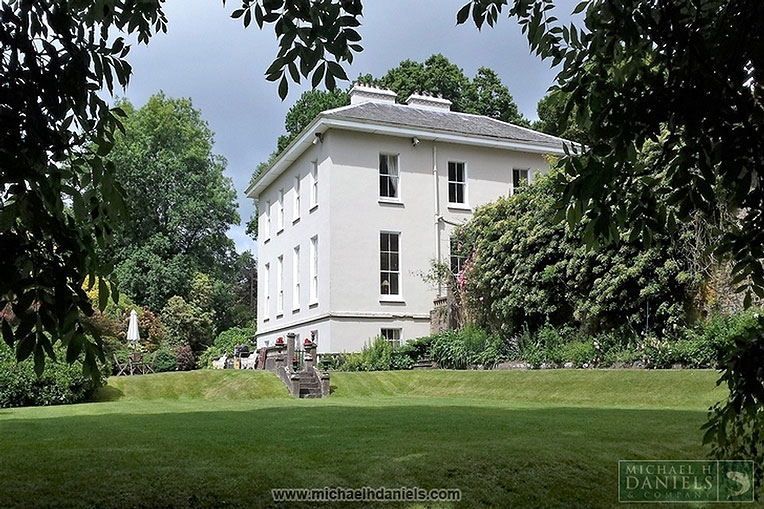 Elegant Georgian Country House For Sale: Lissardagh House, Lissarda, Co. Cork