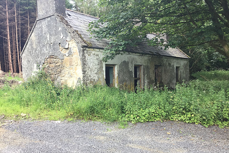 Derelict Cottage For Sale: Derrylahan, Cloonfad, Co. Roscommon