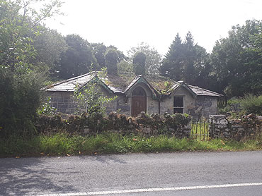 Derelict Gate Lodge For Sale: Rosshill Gate Lodge, Clonbur, Co. Galway