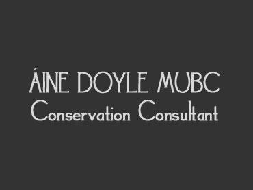 Áine Doyle MUBC, Conservation Consultant