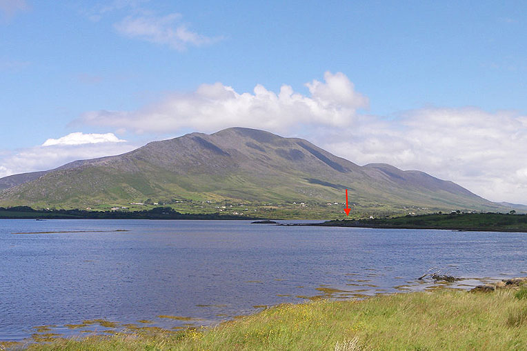 Small Holding with 200 Metres Sea Access For Sale: Country Cottage, Cahersiveen, Co. Kerry