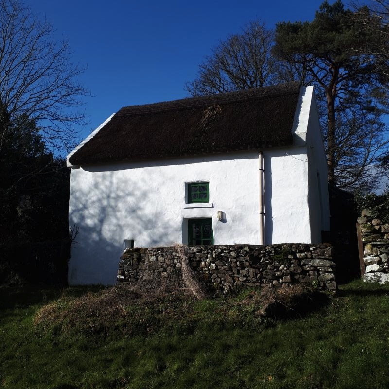 Traditional Irish Thatch Cottage For Sale: Moon Cottage, Clonbur, Co. Galway