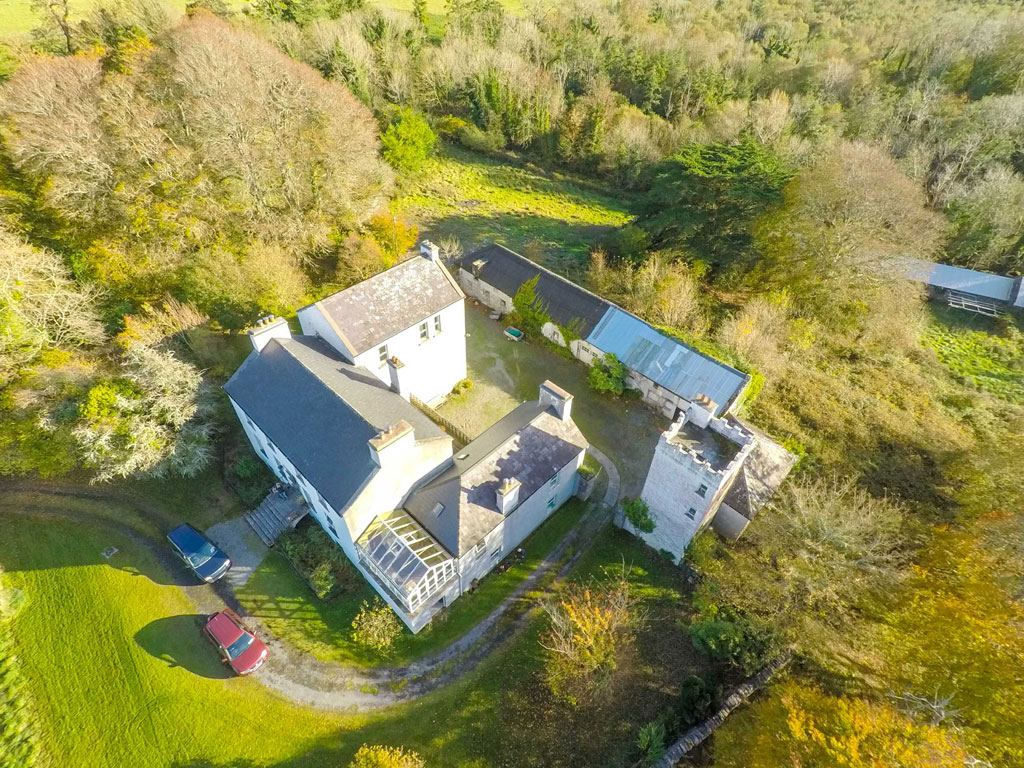 For Sale: Cloonee House, Lough Carra, Co. Mayo
