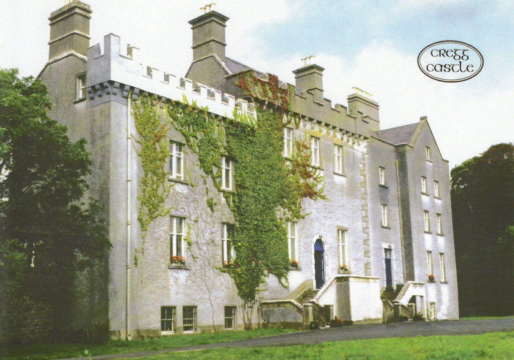 Castle For Sale: Cregg Castle, Corrandulla, Co. Galway
