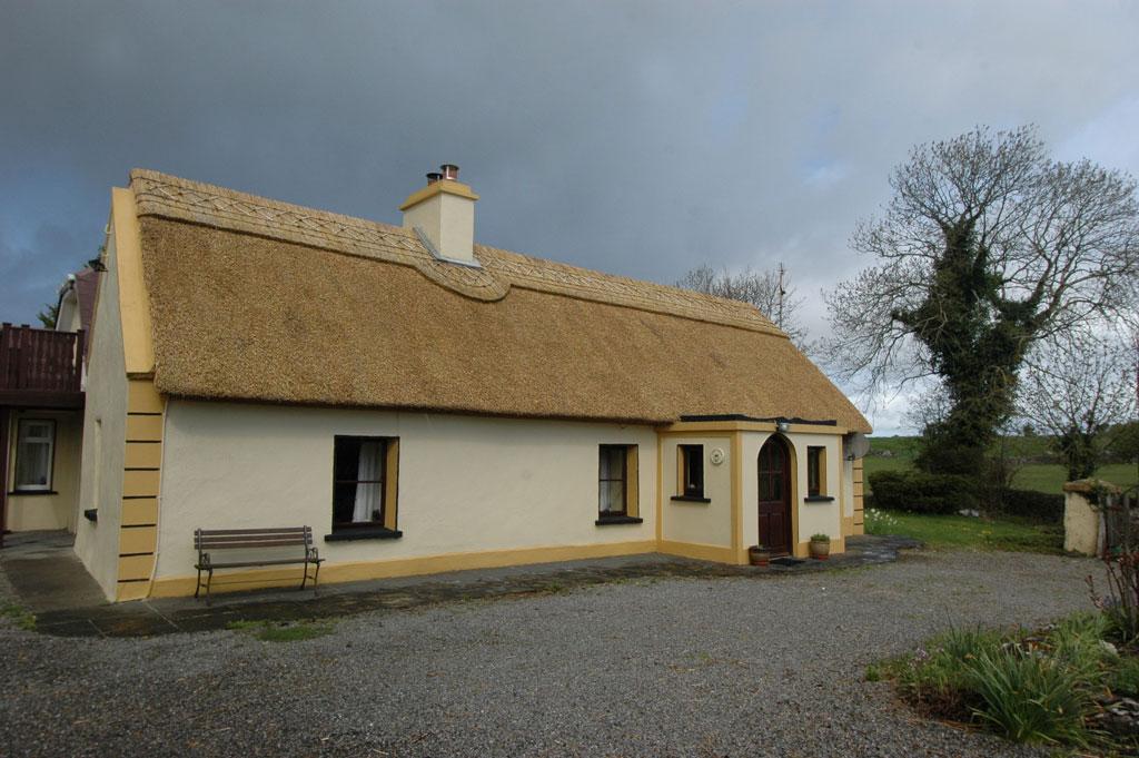 Historic Thatch Cottage For Sale: Ballycurrin, Glencorrib, Co. Mayo