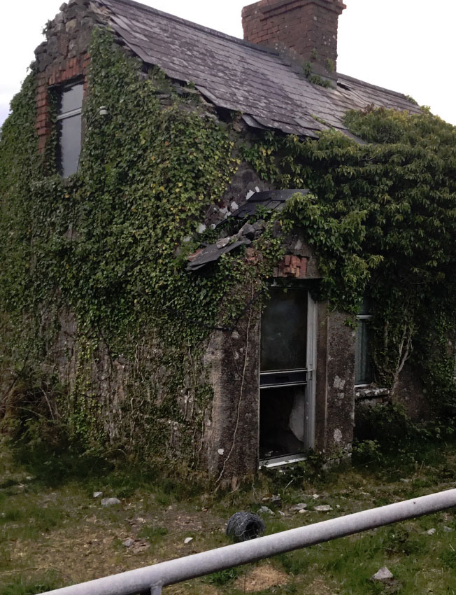 Derelict Two Storey Farmhouse For Sale: Portahard, Frenchpark, Co. Roscommon