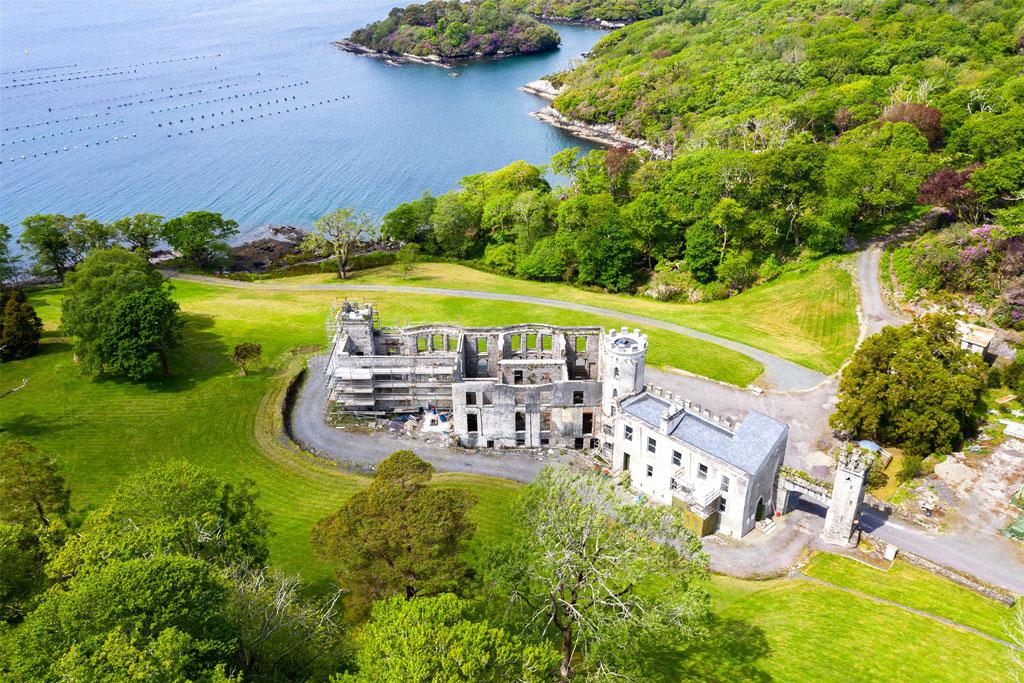Partially Renovated Castle For Sale: Glengarriff Castle, Glengarriff, Co. Cork