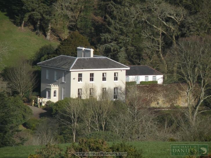 Elegant Georgian Country House For Sale in Co. Cork: Lissardagh House, Lissarda, Co. Cork