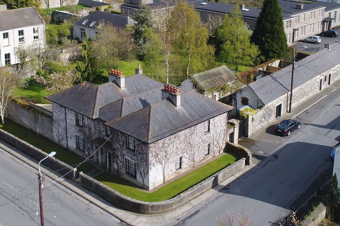 Early Georgian Home For Sale: Bagenal Lodge, Regent Street, Bagenalstown, Co. Carlow