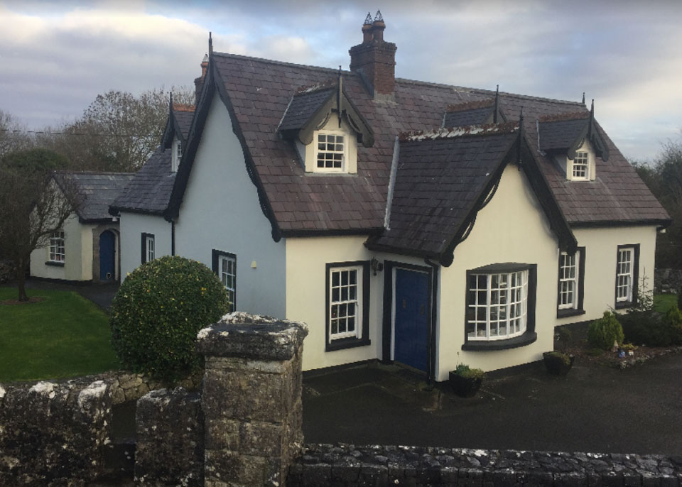Old Railway Crossing House For Sale: Railway House, Ruan, Co. Clare