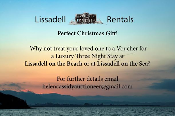 Christmas Gift Vouchers - Lissadell Rentals