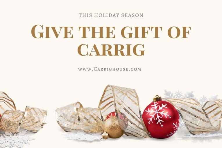 Christmas Gift Ideas - Carrig House
