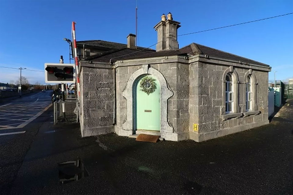 Railway Building For Sale: The Gate Keepers Lodge, Station Road, Athenry, Co. Galway