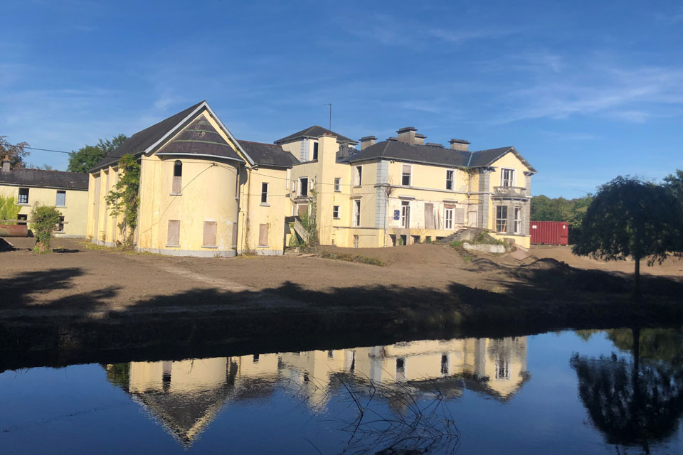 Historic Property For Sale: Inchmore House and Lands, Clara, Co. Offaly