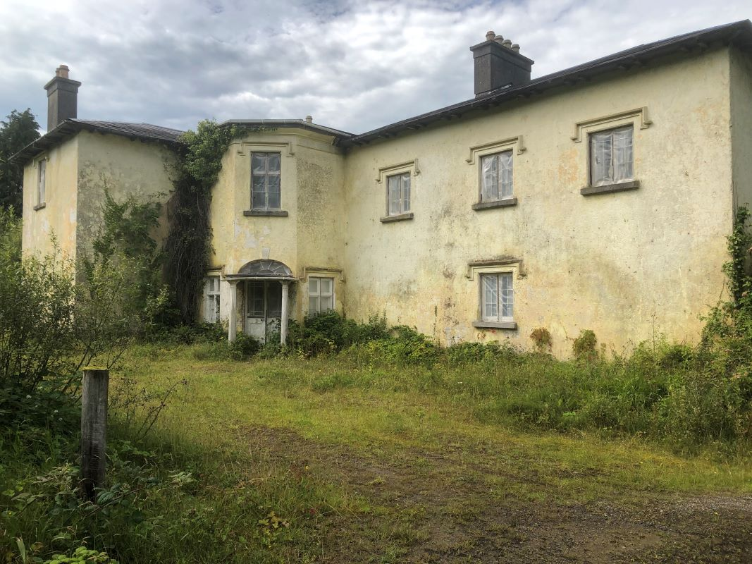 19th Century Country House For Sale: Cashlieve House, Ballinlough, Co. Roscommon