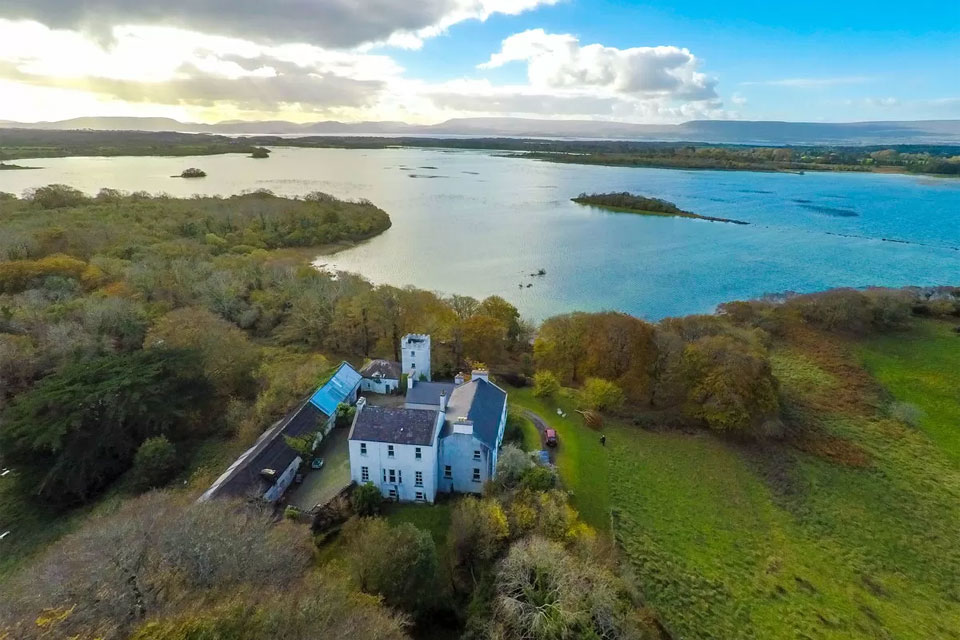 Historic Lakeshore Property For Sale: Cloonee House, Lough Carra, Co. Mayo