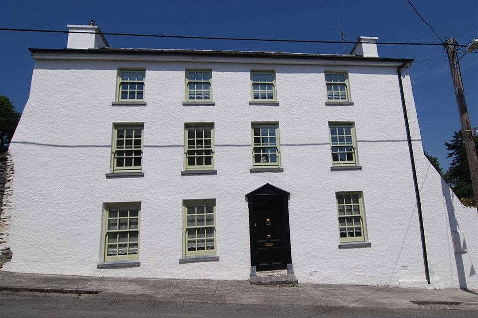 Georgian Townhouse For Sale: The White House, Main Street, Castletownshend, Co. Cork