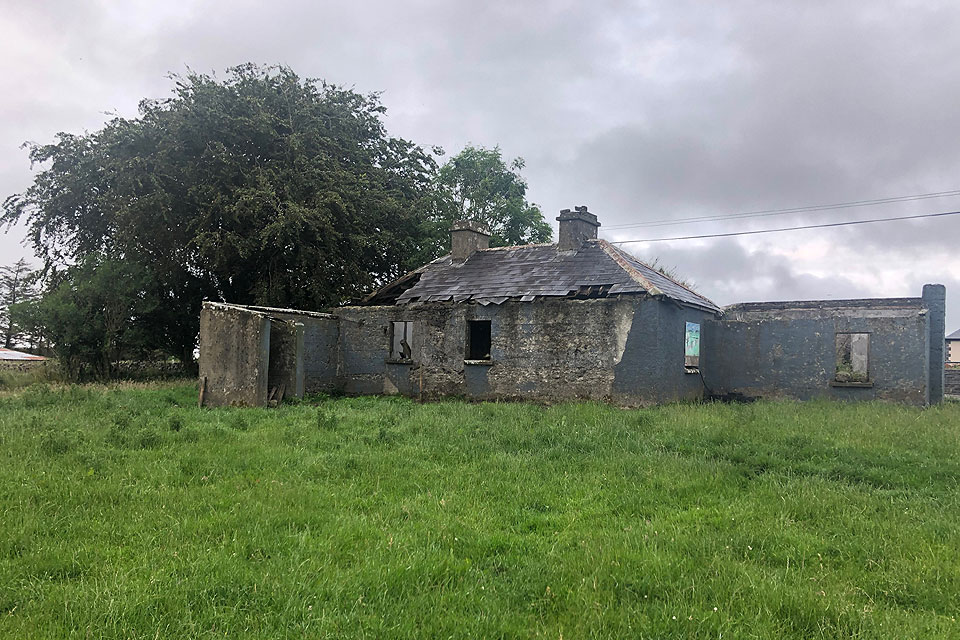 Derelict Cottage For Sale: Menlough Village, Co. Galway